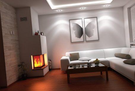 Vizualizácia obývacej izby